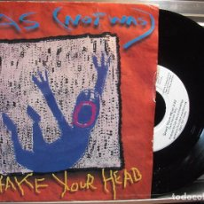 Discos de vinilo: WAS NOT WAS-SHAKE YOUR HEAD/I BLEW UP THE UNITED STATES SINGLE . Lote 102842807