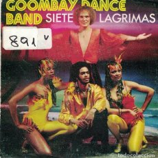 Discos de vinil: GOOMBAY DANCE BAND - SEVEN TEARS / MAMA COCO (SINGLE PROMO ESPAÑOL, CBS 1981). Lote 102849443
