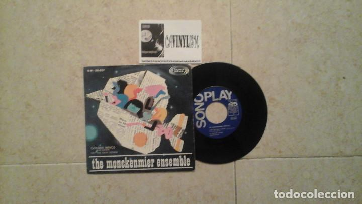THE MONCKENMIER ENSEMBLE ‎– GOLDEN WINGS SINGLE: SONOPLAY ‎– SN-20021 GARAGE & PSYCHODELIC (Música - Discos - Singles Vinilo - Pop - Rock Extranjero de los 50 y 60)