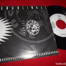 Discos de vinilo: RAMIREZ ORGASMICO SINGLE 7'' 1993 PROMO UNA CARA POWER HOUSE. Lote 102911759
