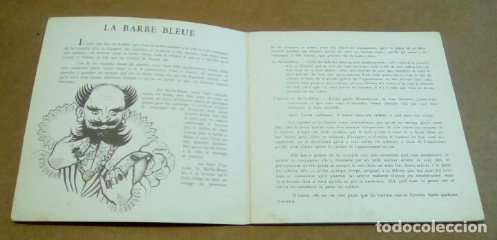 Discos de vinilo: LA BARBE BLEUE (Cuento de Charles Perrault por Jean Debucourt) (discolibro single 7'', ENF 701) - Foto 7 - 102913927