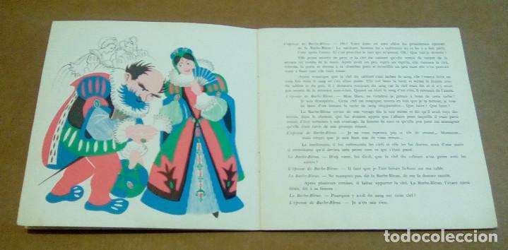 Discos de vinilo: LA BARBE BLEUE (Cuento de Charles Perrault por Jean Debucourt) (discolibro single 7'', ENF 701) - Foto 8 - 102913927