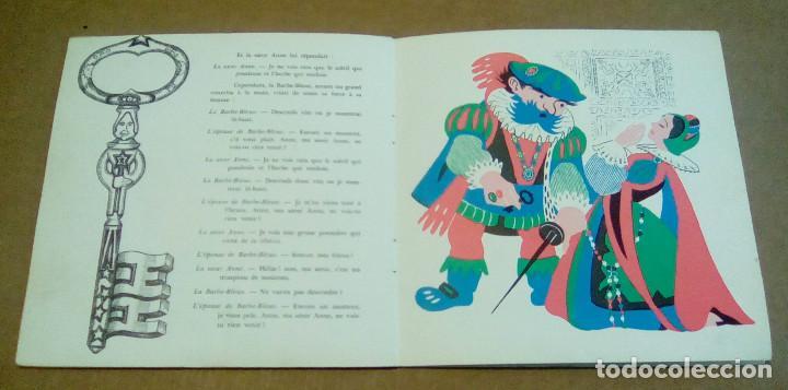 Discos de vinilo: LA BARBE BLEUE (Cuento de Charles Perrault por Jean Debucourt) (discolibro single 7'', ENF 701) - Foto 10 - 102913927
