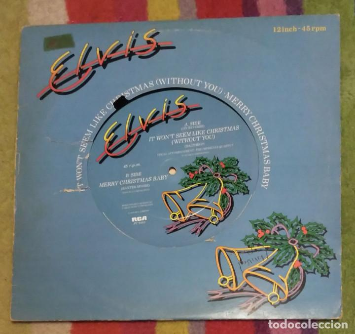 ELVIS PRESLEY - IT WON'T SEEM LIKE CHRISTMAS (WITHOUT YOU) EP 12 PULGADAS 1979 ENGLAND (Música - Discos de Vinilo - Maxi Singles - Rock & Roll)