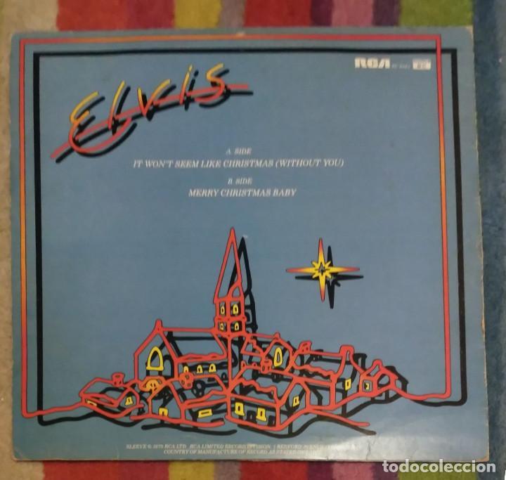 Discos de vinilo: Elvis Presley - It Won't Seem Like Christmas (Without You) EP 12 PULGADAS 1979 ENGLAND - Foto 2 - 102927667