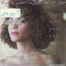 Discos de vinilo: WHITNEY HOUSTON - LOVE WILL SAVE THE DAY / HOLD ME (SINGLE ESPAÑOL, ARISTA 1988). Lote 102930655