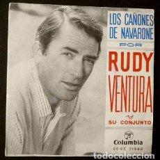 Discos de vinilo: GIGI (SINGLE BSO 1959) BANDA SONORA ORIGINAL DE LA PELICULA -ORQUESTA MGM ANDRE PREVIN- LESLIE CARON. Lote 102932735
