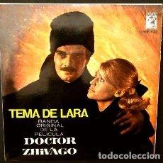 Discos de vinil: DOCTOR ZHIVAGO (EP BSO 1966) BANDA SONORA ORIGINAL DE LA PELICULA - TEMA DE LARA - MAURICE JARRE. Lote 102932955