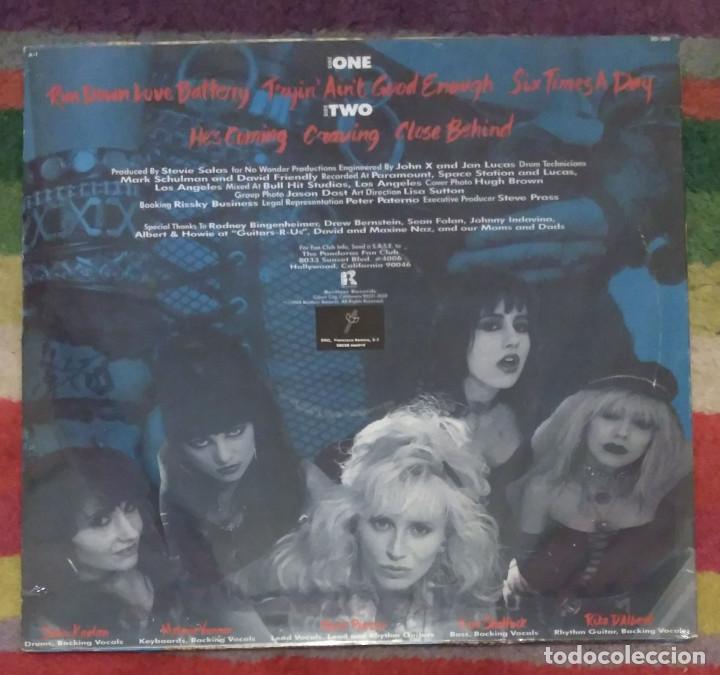 Discos de vinilo: THE PANDORAS (ROCK HARD) MAXI SINGLE 1988 * Precintado - Foto 2 - 102934043