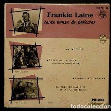 Discos de vinilo: FRANKIE LAINE CANTA TEMAS DE PELICULAS (EP. 1958) (NUEVO) -DUELO DE TITANES/EL TREN DE LAS 3'10. Lote 102936907