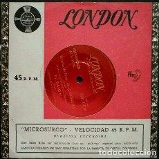Discos de vinilo: CANDILEJAS, MOULIN ROUGE, EL TERCER HOMBRE (EP. 1954) - LONDON RCA- VERSIONES ORQUESTA. Lote 102937387