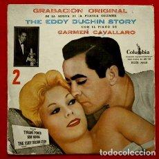 Discos de vinilo: THE EDDY DUCHIN STORY (VOL.2) (EP. 1956) COLUMBIA- BANDA SONORA ORIGINAL LA HISTORIA DE EDDY DUCHIN. Lote 102937863