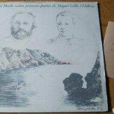 Discos de vinilo: TONI MORLA CANTA POESIAS DE MIGUEL COSTA LP. Lote 102938507