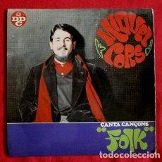 Discos de vinilo: MIQUEL CORS (EP. DDC 1968) CANTA CANÇONS FOLK (EN CATALÀ). Lote 102939203