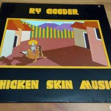 Discos de vinilo: RY COODER -CHICKEN SKIN MUSIC-. Lote 102942390