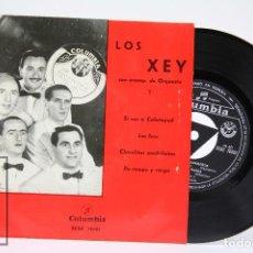Discos de vinilo: DISCO EP DE VINILO - LOS XEY / SI VAS A CALATAYUD, LOS FEOS.... - COLUMBIA - AÑO 1963. Lote 102953547