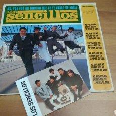 Discos de vinilo: LOS SENCILLOS -NO POR ESO NO (QUIERO QUE TU TE VAYAS DE AQUÍ) MÁS POSTAL PROMOCIONAL. Lote 102954123
