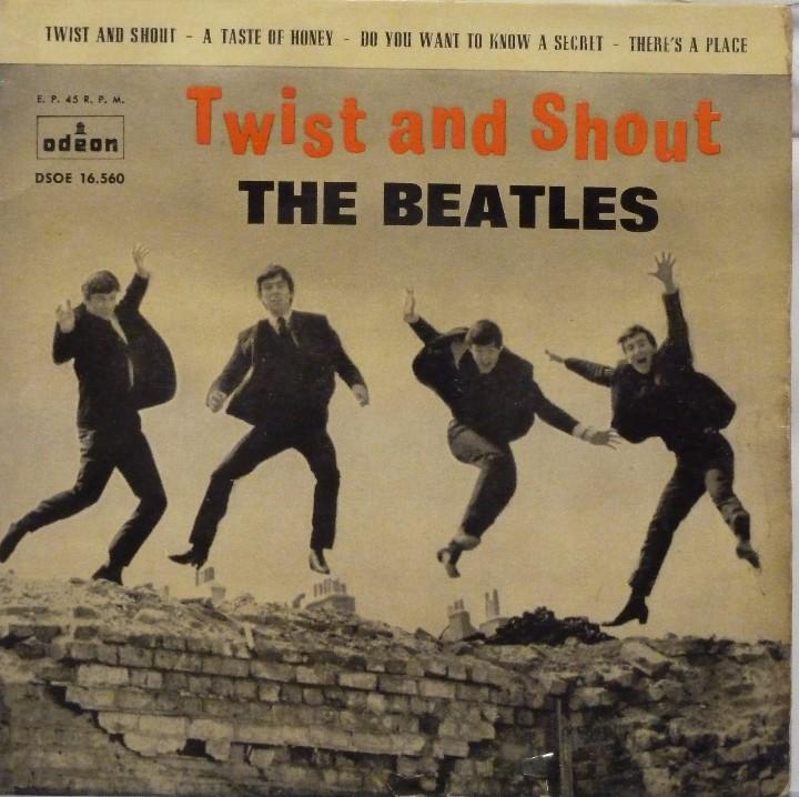 THE BEATLES - TWIST AND SHOUT (Música - Discos de Vinilo - EPs - Pop - Rock Internacional de los 50 y 60)