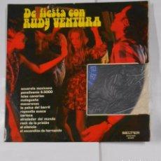 Discos de vinilo: DE FIESTA CON RUDY VENTURA. ACUARELA MEXICANA. PENSILVANIA 6.5000. ISLAS CANARIAS. TDKDA21. Lote 102956459