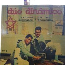 Discos de vinilo: EG8//DÚO DINÁMICO//EXODUS/SURRENDER / OH NO/RECUERDA /. Lote 102965046