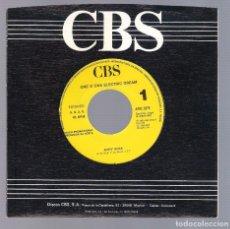 Discos de vinilo: ONE O ONE ELECTRIC DREAM - ACTIV' ROCK (SINGLE 7'' PROMO 1989, CBS ARIC 2276). Lote 102967163