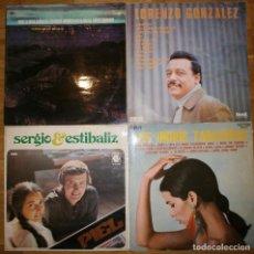 Discos de vinilo: LOTE CUATRO DISCOS VINILOS VARIADOS. Lote 102969739