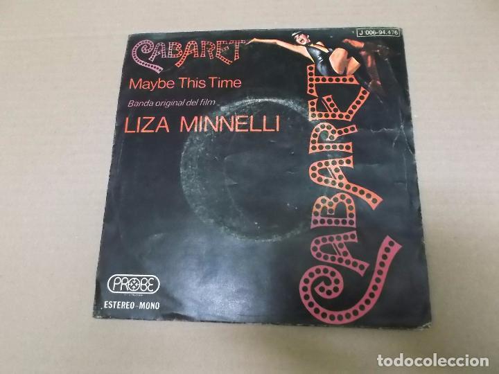 CABARET (SN) LIZA MINNELLI AÑO 1973 (Música - Discos - Singles Vinilo - Bandas Sonoras y Actores)