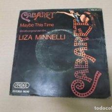 Discos de vinilo: CABARET (SN) LIZA MINNELLI AÑO 1973. Lote 102970991