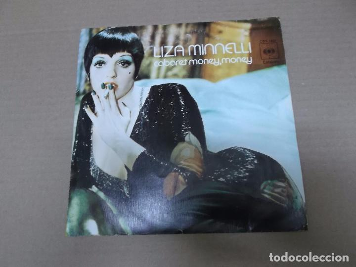 CABARET (MONY MONY) (SN) LIZA MINNELLI AÑO 1973 (Música - Discos - Singles Vinilo - Bandas Sonoras y Actores)