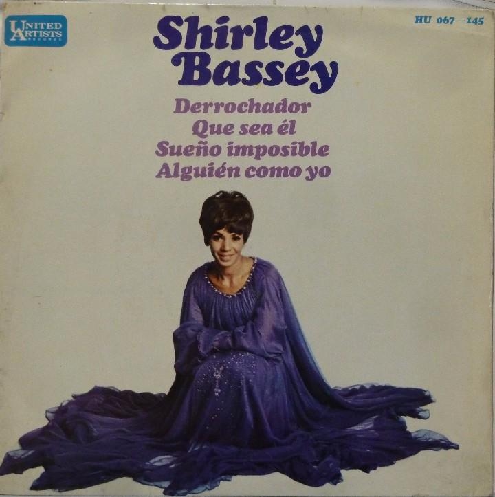SHIRLEY BASSEY - DERROCHADOR (Música - Discos de Vinilo - EPs - Funk, Soul y Black Music)