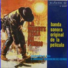 Discos de vinilo: LA MUERTE TENIA UN PRECIO. Lote 102950771