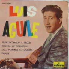 Discos de vinilo: LUIS AGUILE. Lote 102950882