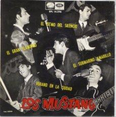 Discos de vinilo: LOS MUSTANG - EL RITMO DEL SILENCIO. Lote 102950898