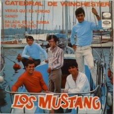 Discos de vinilo: LOS MUSTANG - CATEDRAL DE WINCHESTER. Lote 102950902