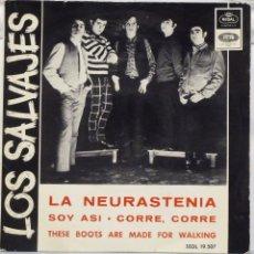 Discos de vinilo: LOS SALVAJES - LA NEURASTENIA. Lote 102950914