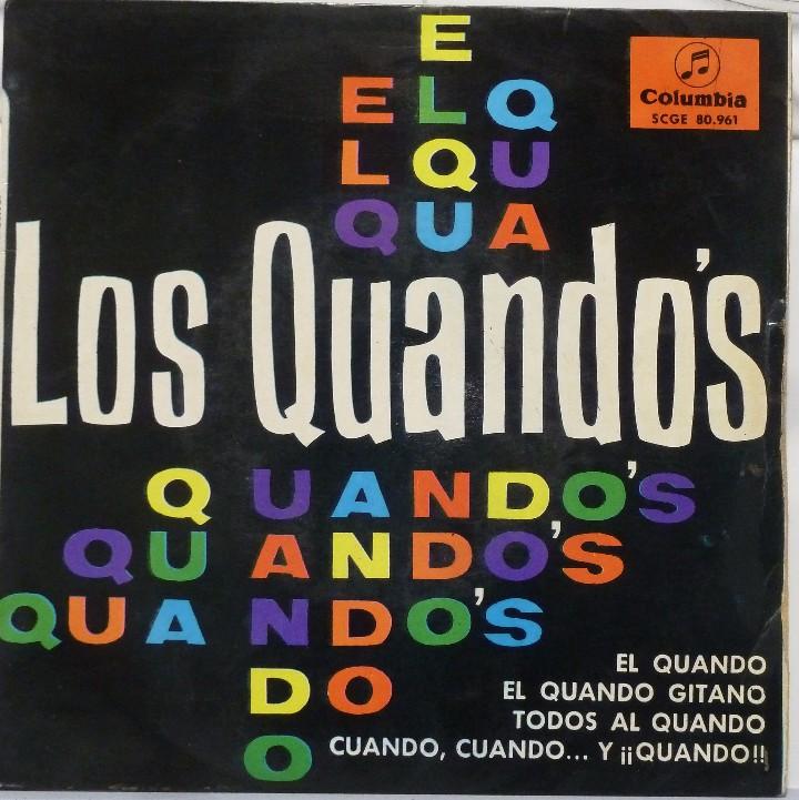 LOS QUANDOS - EL QUANDO (Música - Discos de Vinilo - EPs - Grupos Españoles 50 y 60)