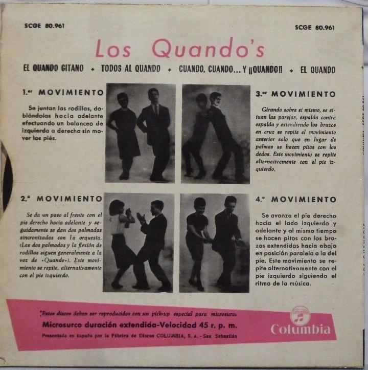 Discos de vinilo: LOS QUANDOS - EL QUANDO - Foto 2 - 102950934
