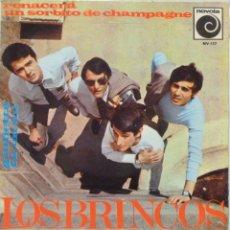 Discos de vinilo: LOS BRINCOS - RENACERA. Lote 102950938