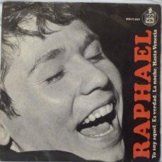 Discos de vinilo: RAPHAEL - YO SOY AQUEL. Lote 102950954