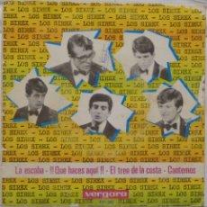 Discos de vinilo: LOS SIREX - LA ESCOBA. Lote 102950982