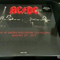 Discos de vinilo: MUSICA LP HEAVY: AC DC LIVE AGORA BALLROOM 1977 VINIYL PRECINTADO JOYA DIFICIL . Lote 102985567