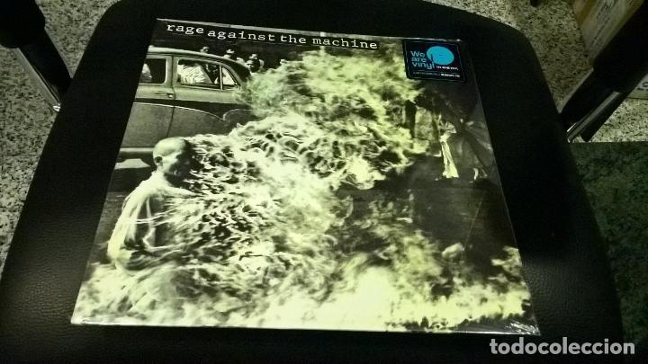 MUSICA LP HEAVY: RAGE AGAINST THE MACHINE PRIMER DISCO VINIYL PRECINTADO JOYA (Música - Discos - LP Vinilo - Heavy - Metal)