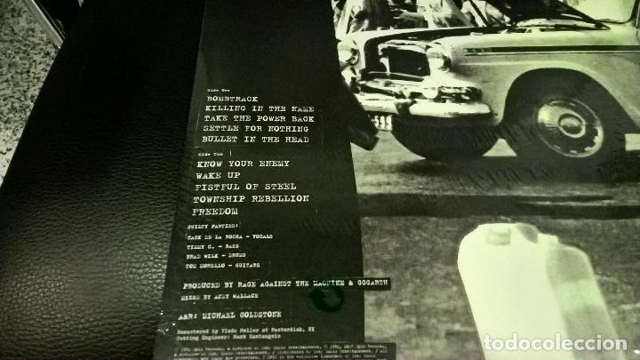 Discos de vinilo: musica lp heavy: rage against the machine primer disco viniyl precintado joya - Foto 2 - 102985915