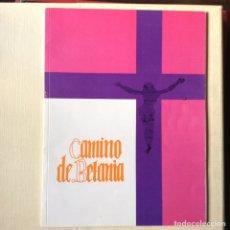 Discos de vinilo: CAMINO DE BETANIA. 10 LP Y LIBRETO. Lote 102991106