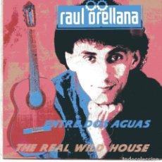 Discos de vinilo: RAUL ORELLANA / ENTRE DOS AGUAS / THE REAL WILLD HOUSE (SINGLE 1989). Lote 102998047