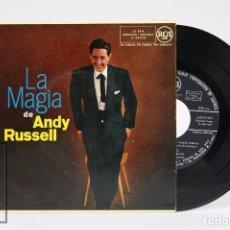 Discos de vinilo: DISCO EP DE VINILO - LA MAGIA DE ANDY RUSSELL - RCA - AÑO 1959. Lote 103029959