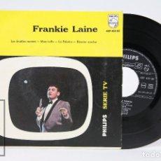 Discos de vinilo: DISCO EP DE VINILO - FRANKIE LAINE / LES FEUILLES MORTES, MAM'SELLE...- PHILIPS - AÑO 1959. Lote 103030691