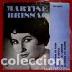 Discos de vinilo: MARTINE BRISSAC (EP.SAEF 1961) JEAN FRED Y SU CONJUNTO-PIANO FERNANDO MARIN (RARO) UN GAMIN DE PARIS. Lote 103032871