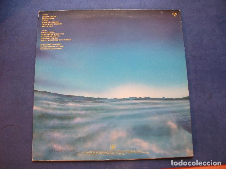 Discos de vinilo: JOURNEY RAISED ON RADIO LP SPAIN 1986 PEPETO TOP - Foto 2 - 103033923