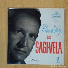 Discos de vinilo: LUIS GAGI VELA - LUISA FERNANDA + 3 - EP. Lote 103041378